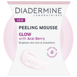 Diadermine Essential Peeling Mousse Glow With Acai Berry 75ml