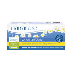 Natracare Tampons Regular without Applicator 10pcs