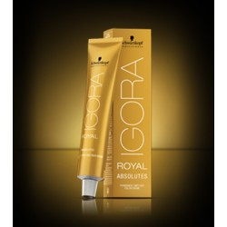 Schwarzkopf Professional Igora Royal Absolutes 7-60 Ξανθό Μεσαίο Μαρόν Φυσικό 60ml