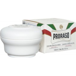 Proraso White Shaving Soap in a Jar 150ml