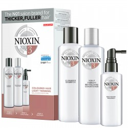 Nioxin Trial Kit System 3 (Shampoo 150ml + Conditioner 150ml + Treatment 50ml)