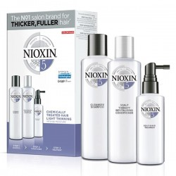 Nioxin Trial Kit System 5 (Shampoo 150ml + Conditioner 150ml + Treatment 50ml)
