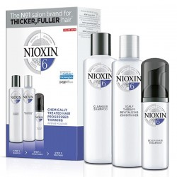 Nioxin Loyalty Kit System 6 (Shampoo 300ml + Conditioner 300ml + Treatment 100ml)