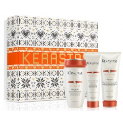 Kérastase Nutritive Xmas Box (Bain Satin 1 250ml + Lait Vital 200ml + Thermique 150ml)