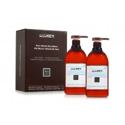 Saryna Key Curl Control Duo Set (Shampoo 1000ml + Conditioner 1000ml)