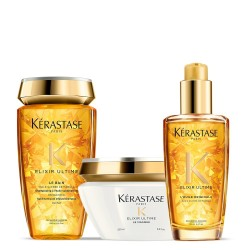 Kérastase Elixir Ultime Set (Bain 250ml + Masque 200ml + L' Huile Originale 100ml)