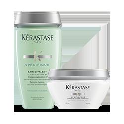 Kérastase Specifique Set (Bain Divalent 250ml + Masque Hydra-Apaisant 200ml)